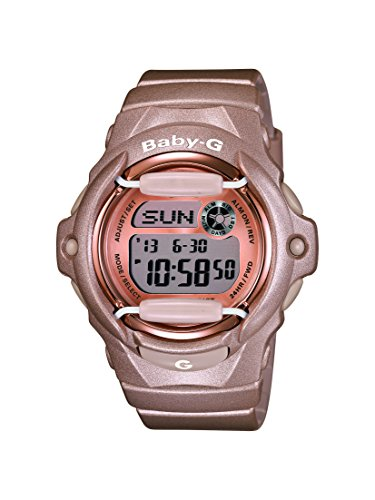 Casio Women's Digital Watch with Resin Strap – BG-169G-4ER Best Price and Cheapest