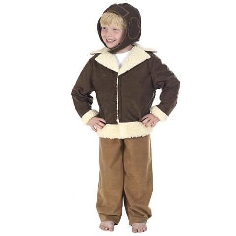 Pilot / Bomber Costume for Kids 10-12 Years