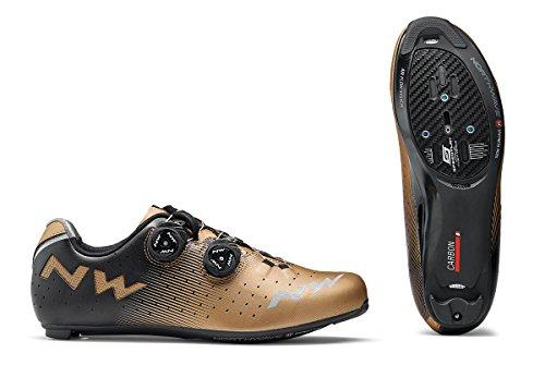 Northwave Revolution per bici da corsa scarpe Bronzo/Nero 2018, Uomo, bianco, 44
