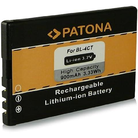 Batería BL-4CT   BL4CT para Nokia 2720 fold   5310   5310 XpressMusic   5630 XpressMusic   6600 fold   6700s   6700 slide   7210 Supernova   7230   7310 Supernova   X3   X3-00 y mucho más… [ Li-ion, 900mAh, 3.7V ]