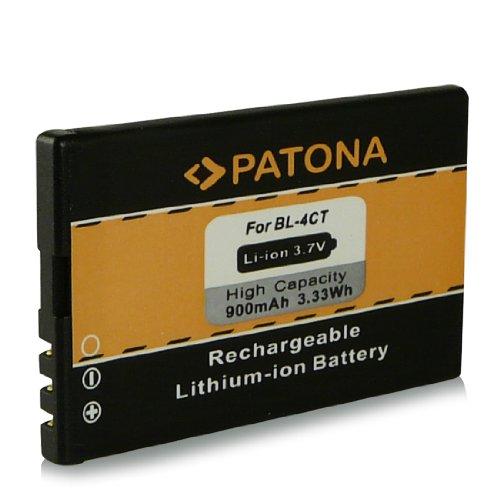 Batterie BL-4CT | BL4CT pour Nokia 2720 fold | 5310 | 5310 XpressMusic | 5630 XpressMusic | 6600 fold | 6700s | 6700 slide | 7210 Supernova | 7230 | 7310 Supernova | X3 | X3-00 et bien plus encore... [ Li-ion, 900mAh, 3.7V ]