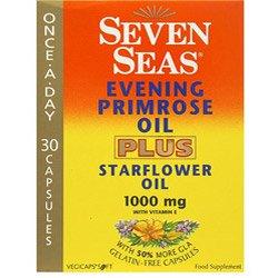 Seven Seas Evening Primrose + Starflower 30 Capsules-PACK OF 6 by Seven Seas
