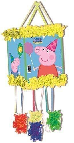 Peppa Pig Pull-string Pinjata / Pinata Partyspiel Spielzeug - Füllventil With Süßigkeiten