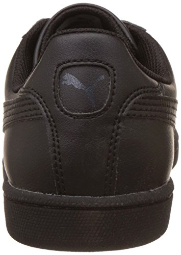 Puma Unisex-Erwachsene Smash Leather Sneaker Schwarz (black-dark shadow 04 )