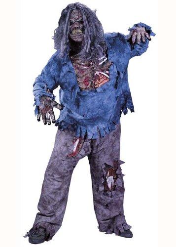 Preisvergleich Produktbild Zombie Halloween Komplett-Kostüm - Gr. XL