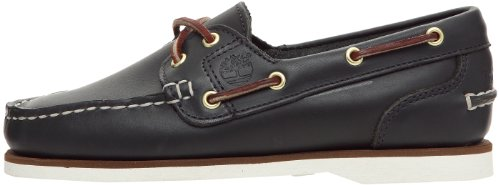 Timberland Classic Amherest 2 Eye  Women s Boat Shoes  Blue  5 UK