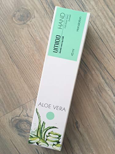 UMIDO Handlotion Aloe Vera Spar-Set 3x45ml. Schenkt der Haut und den Nägeln samtweiche Pflege und bereitet ein zartes, geschmeidiges Hautgefühl. Zieht schnell ein und fettet nicht.