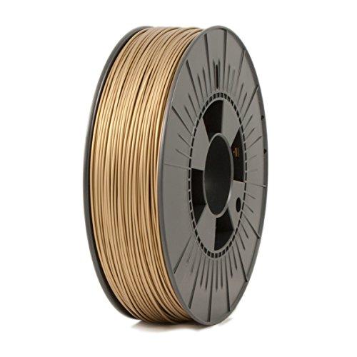 ICE FILAMENTS ICEFIL1PLA107 PLA Filament, 1,75 mm, 0,75 kg, Groovy Gold