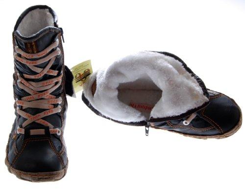 Leder Stiefeletten Damen Schwarz Gelb Blau Rot Grün Weiß Köchel Schuhe echt Leder Winter Stiefel gefüttert Schwarz
