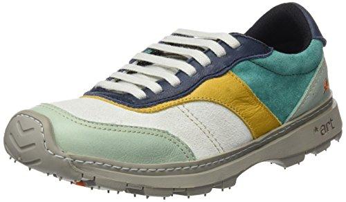 The Art Company 1041 Memphis Link, chaussures Derby mixte adulte Vert (Multi Eton)