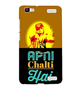 Apni Chalti Hai Attitude 3D Hard Polycarbonate Designer Back Case Cover for VIVO V1 MAX