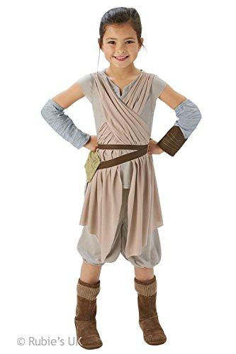 Rubies Star Wars: Il Risveglio Della Forza-Rey Deluxe Costume