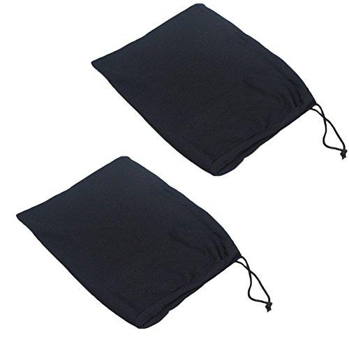 Milopon Lot de 2 Sacs Pochettes de Protection pour Moulinet de Pêche et Accessoires de Pêche