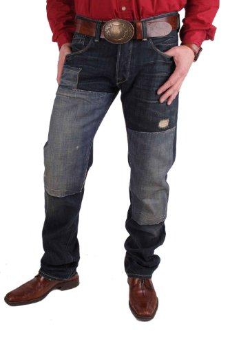 Napapijri Jeans Uomo Pantaloni Blu W32 - W36 #RIF171 - Blu, 33W / 36L, blu