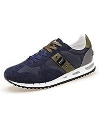 Blauer 8SMEMPHIS05 NYL Herren Sneaker Halbschuh Schnürer Blau (NVY Navy) b65623d27c