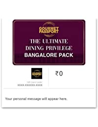 Dineout Gourmet Passport Bangalore-12 Months E-Gift Card