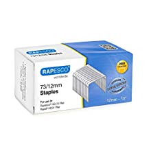 Rapesco 1261 73/12 mm Extra Strong Staples (Pack of 2000)