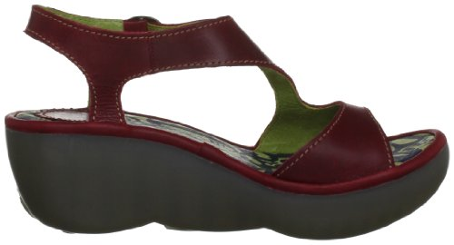 Red Sandali London Bianca Rot FLY Rosso Donna CO6xYnqw