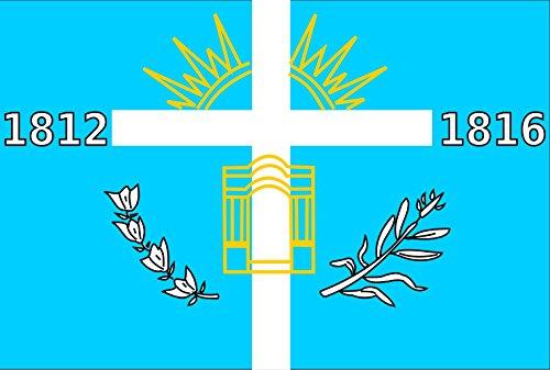 magFlags Flagge: Large Tucuman | Former flag of Tucuman province | Anterior bandera de la provincia de Tucumán | Querformat Fahne | 1.35m² | 90x150cm » Fahne 100% Made in Germany