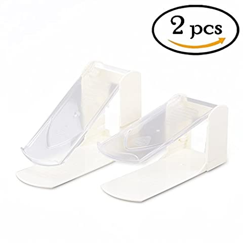 CECII Shoe Slotz Space Saver (2pcs(White))