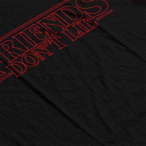 Stranger Things Friends Dont Lie Women's Sweatshirt Black