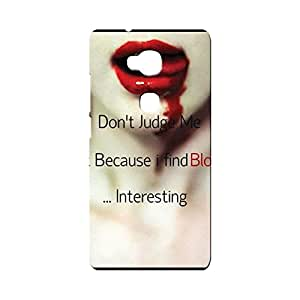 BLUEDIO Designer Printed Back case cover for Huawei Honor X - G4475