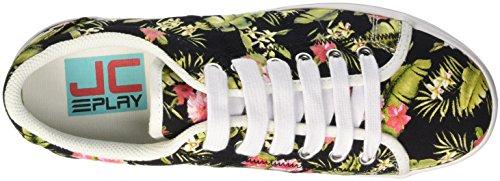 Jeffrey Campbell Zomg Floral, Scarpe da Cheerleader Donna Nero