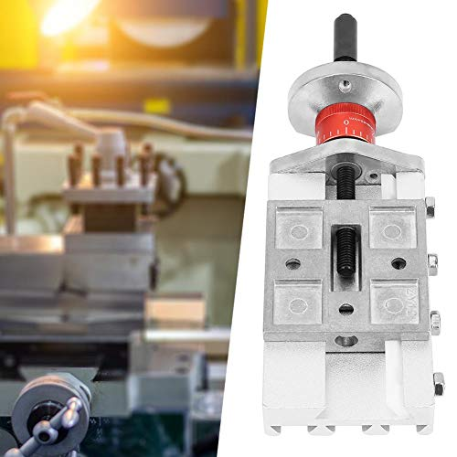 Metallkreuzschlitten,Metal Cross Slide Metallgleiter 32mm Maximaler Hub Metallkreuzschlitten Z008M für Drehmaschine Drehachse Y/Z,sehr haltbar -