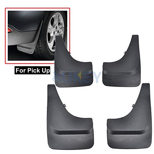XUKEY Universal passend für Pickup LKW SUV Schmutzfänger Spritzschutz vorne und hinten, 4-teiliges Set (Honda Ridgeline Truck)