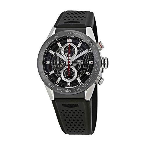 TAG Heuer Carrera Herren-Armbanduhr 43mm Automatik CAR201V.FT6046