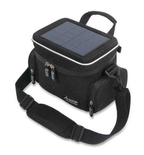 A-Solar AB316 Aurora Kamera Tasche inkl. Akku (1800mAh) schwarz