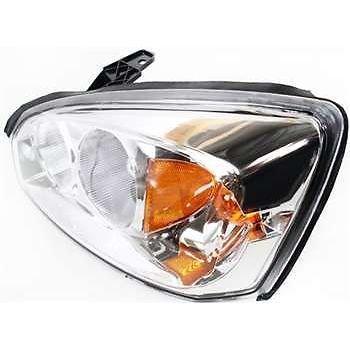 Diften 114-A8851-X01 - 04-08 Chevy Malibu Maxx Headlight Headlamp Left Driver Side by Diften