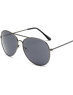 Gafas de sol OXOK Hombres Mujeres Plaza de la vendimia con espejo Gafas de sol Gafas deportes al aire libre Glasse