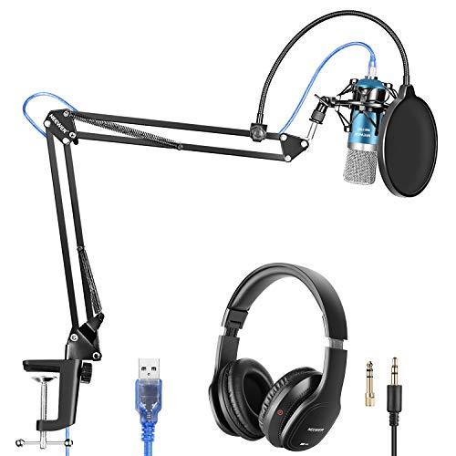 Neewer USB Micrófono con Suspensión