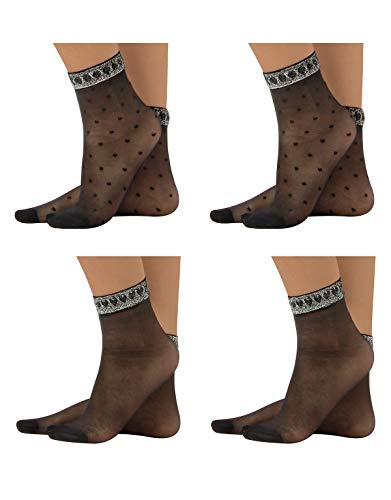CALZITALY – PACK 4 PARES Calcetines de Mujer