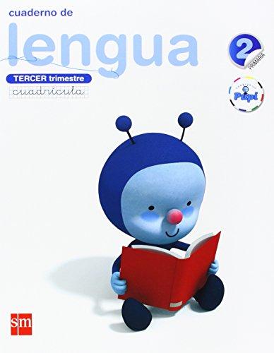Conecta con Pupi, lengua, 2 Educación Primaria. 3 trimestre. Cuaderno (cuadrícula)