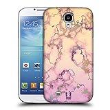 Head Case Designs Lila Und Cremweiss Schimmerndes Marmor Ruckseite Hülle für Samsung Galaxy S4 I9500