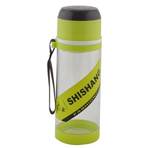 Dealmux Camping Plastique détachable Passoire à thé Sport Bouteille d'eau Tasse mug 630 ml Vert