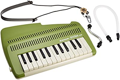 Suzuki A-25F 25-Key Andes Recorder-Keyboard w/ Mouthpiece and Strap (japan import)