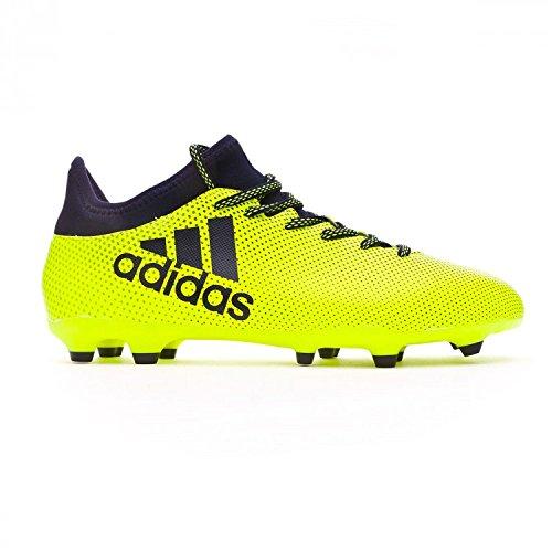 Adidas Herren X 17.3 Fg Fußballschuhe, Mehrfarbig (Solar Yellow/Legend Ink F17/Legend Ink F17), 41 1/3 EU