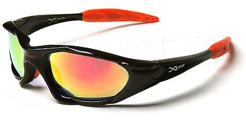 X-Loop Sonnenbrillen mit Brillenetui - Sport - Radfahren - Skifahren - Laufen - Autofahren (Mit Brillenetui / Vault)
