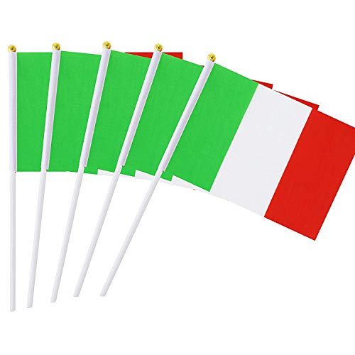 laggen Italien Mini Fahne Fußball Deko 22 x 14 cm ()