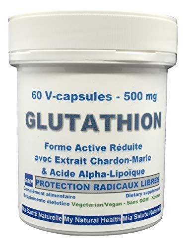 Amalgam-kapseln (L-Glutathion 150 mg (L-Glutathion reduziert, GSH) - 60 pflanzliche Kapseln)