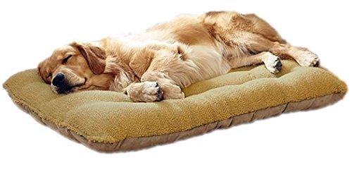Cuscino, tappetino in pile per cuccia, per cuccioli, cani, gatti, per cani di taglia piccola, rimovibile e lavabile
