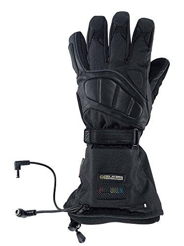 Preisvergleich Produktbild IXS ALKOR Beheizbarer Winter Handschuh Textil / Leder - schwarz Größe XS