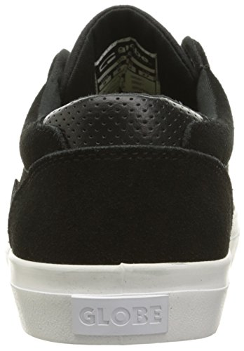 Globe Willow Hommes Daim Chaussure de Basket Black-White