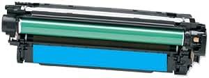 Premium Cartouche Toner Compatible pour HP CE741 A , CE 741 , CE 741A CP-5220 CP5220 series CP5225 CP 5225N CP5225 DN (Cyan)