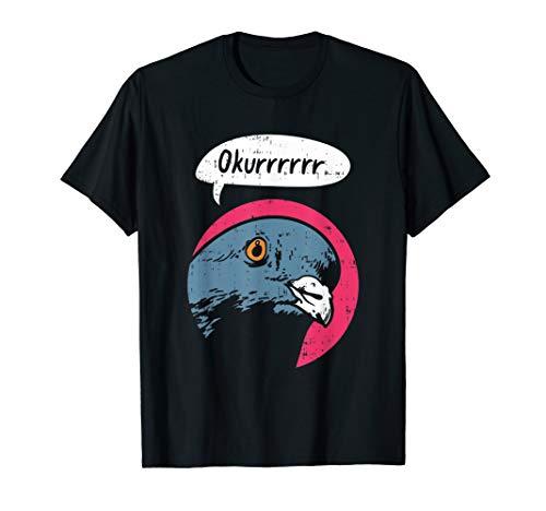 Lustiges Tauben T-Shirt I Vogelzucht Taubenzucht Feder -