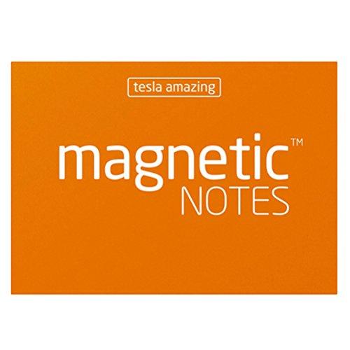 Tesla Amazing Größe S magnetisch Noten-orange Memo Center