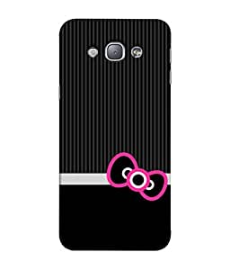 Fuson Designer Back Case Cover for Samsung Galaxy A8 (2015) :: Samsung Galaxy A8 Duos (2015) :: Samsung Galaxy A8 A800F A800Y (Hearts Hello Kitty Cat Pink Love )